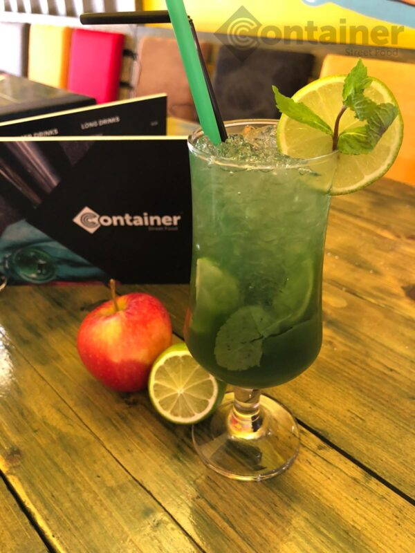 cocktail cu mere verzi